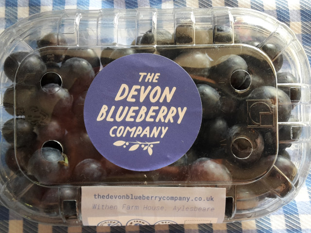 pack of blueberries